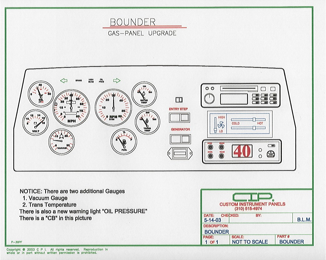 Bounder_1991_CIP_Rrplacement fleetwood motorhome wiring diagram magnetek power converter wiring ford motorhome wiring diagram at bayanpartner.co