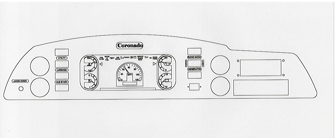 coronado original panel layout