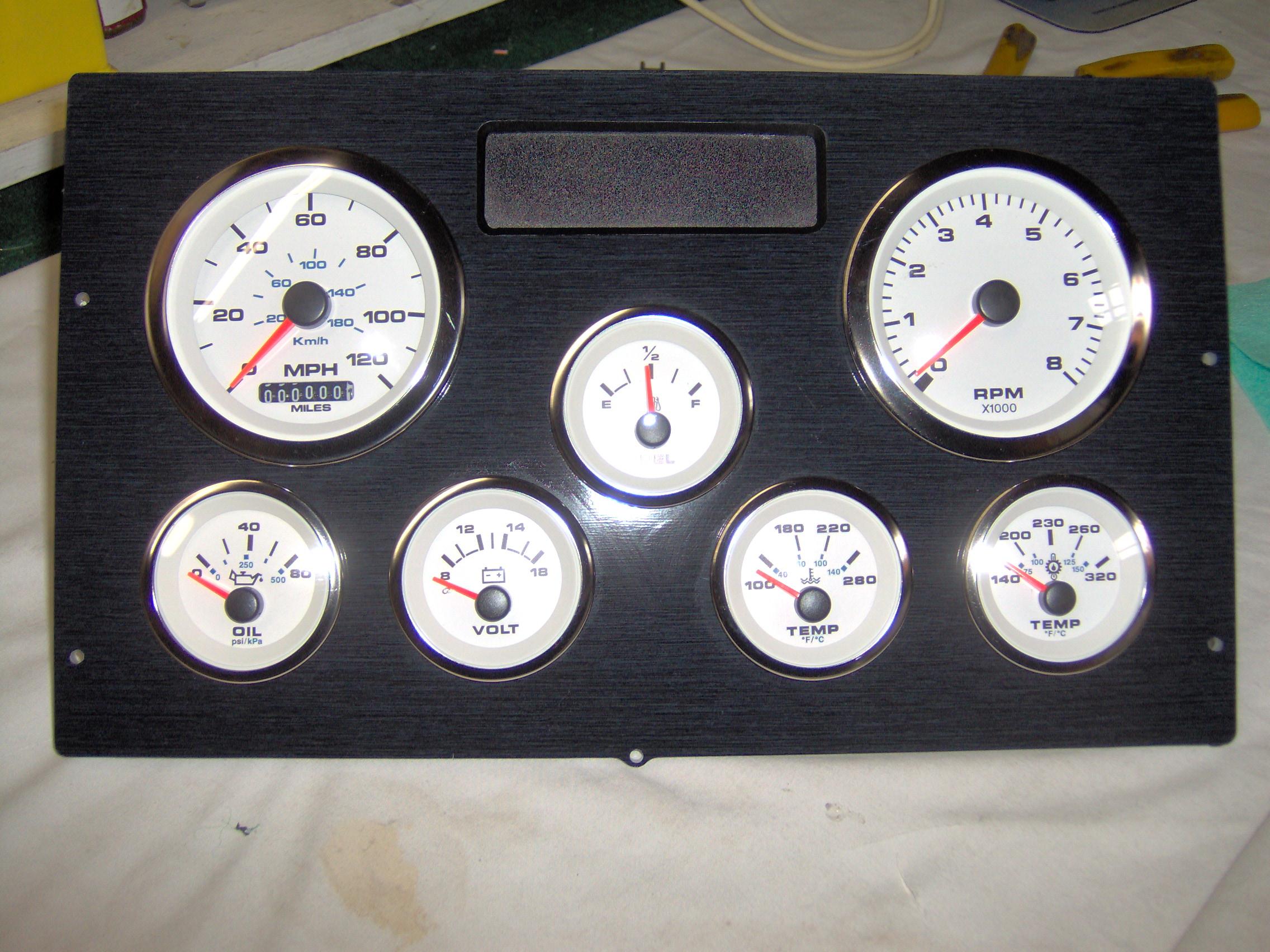 Sand Rail Speedometer : Wiring diagram tekonsha ke controller cabinet