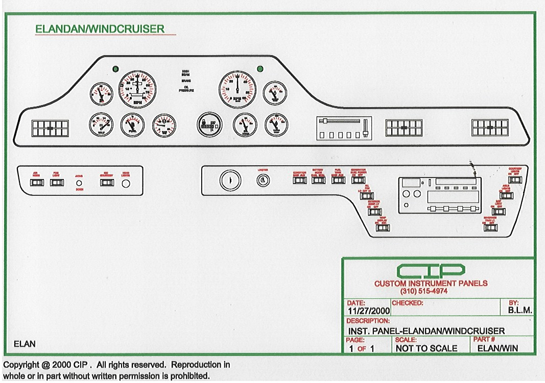 Winnebago 1987 Chieftain Wiring Diagram Cip Complete 204874 Bytes